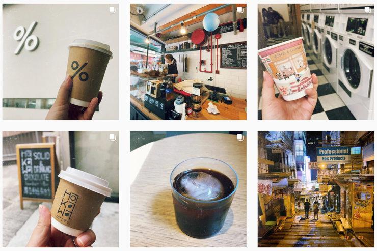 Instagramの一覧画面